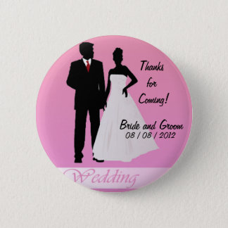 Thanks for Coming!  (Pink) Pinback Button