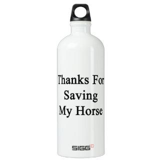 Thanks For Saving My Horse SIGG Traveler 1.0L Water Bottle