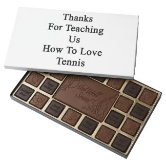 Thanks For Teaching Us How To Love Tennis Assorted Chocolates