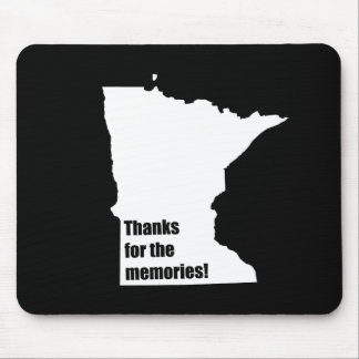 Thanks for the Memories Minnesota Mouse Pad