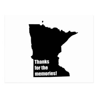 Thanks for the Memories Minnesota Post Cards