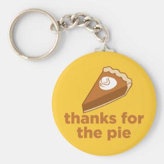 Thanks for the Pie Basic Round Button Keychain