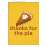 Thanks for the Pie Greeting Card