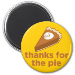 Thanks for the Pie Magnets