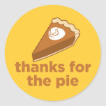 Thanks for the Pie Stickers