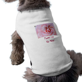 Thanks for the Walk! Doggy shirts Dog clothes