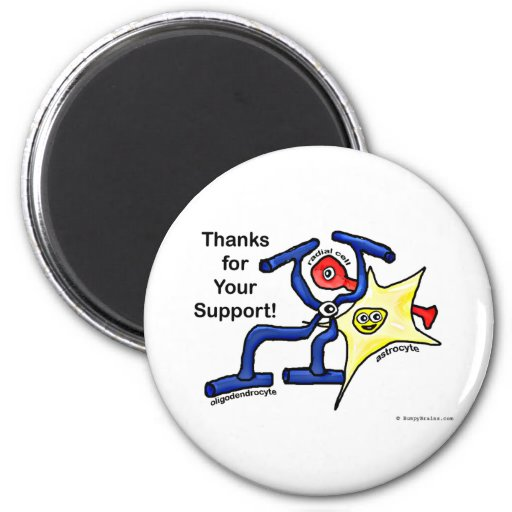 Thanks for Your Support 2 Inch Round Magnet