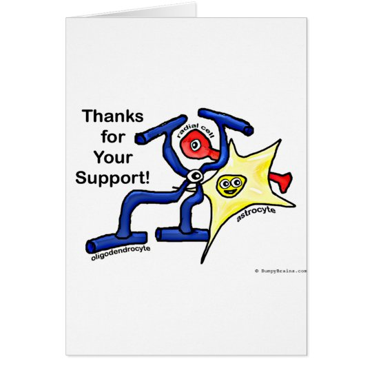 Thanks for Your Support Card