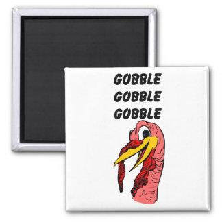Thanks Giving Turkey Gobble Magnet