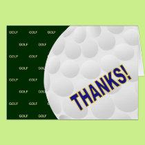 Thanks! - Golf Card