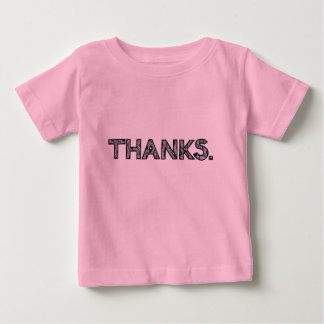 THANKS | Kid's T-Shirt | Customizable