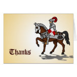 Thanks - Knight in shining armor Card