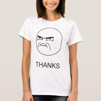 Thanks Meme - Ladies Fitted T-Shirt