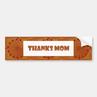THANKS MOM, ThanksMom GREETINGS STICKER CARDS
