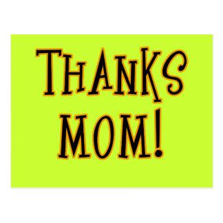 THANKS MOM! Tshirt or Gift Product Postcard