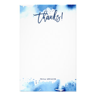 Thank You Note Baby Shower Office School Products Zazzle