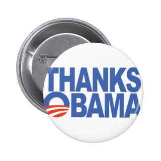 Thanks Obama 2 Inch Round Button