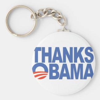 Thanks Obama Basic Round Button Keychain