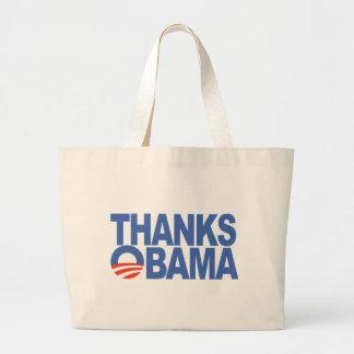 Thanks Obama Jumbo Tote Bag