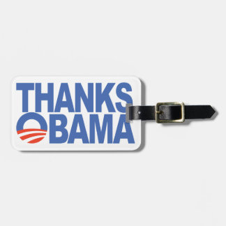 Thanks Obama Tags For Bags
