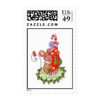 Thanks Santa Postage Stamp