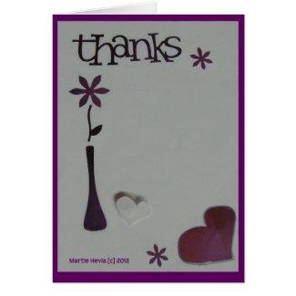 Thanks - Scrapbook Card
