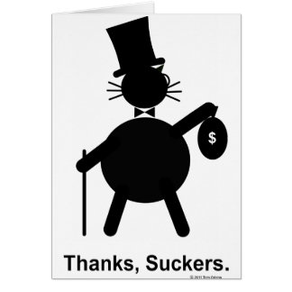 Thanks,Suckers Card