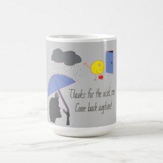 Thanks sun! coffee mug