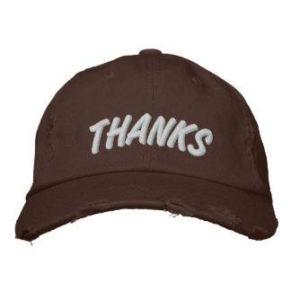 THANKS - Thanksgiving Hat - Chocolate