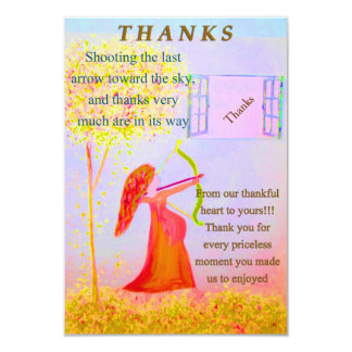 Thanks, Theme The LORDs Arrow of Victory Card