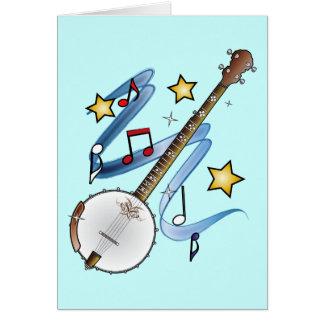 Thanks to a Banjo Teacher Card