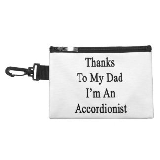 Thanks To My Dad I'm An Accordionist Accessories Bag