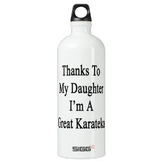 Thanks To My Daughter I'm A Great Karateka SIGG Traveler 1.0L Water Bottle