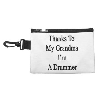 Thanks To My Grandma I'm A Drummer Accessory Bags