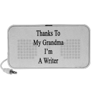 Thanks To My Grandma I'm A Writer Travel Speakers