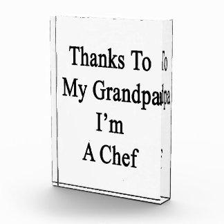 Thanks To My Grandpa I m A Chef Awards