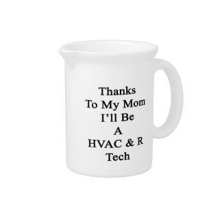 Thanks To My Mom I'll Be A HVAC R Tech Pitchers