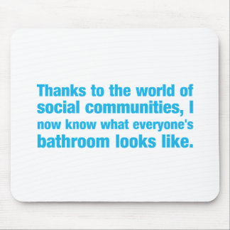 thanks to the world of social communities i know.. mouse pad