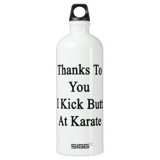 Thanks To You I Kick Butt At Karate SIGG Traveler 1.0L Water Bottle