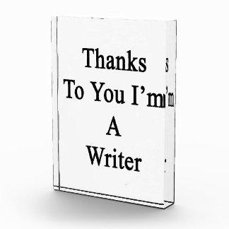 Thanks To You I'm A Writer Awards