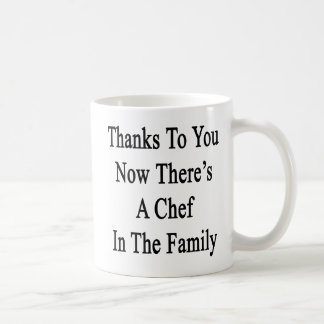 Thanks To You Now There's A Chef In The Family Coffee Mug