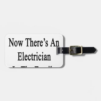 Thanks To You Now There's An Electrician Bag Tag