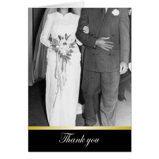 Thanks Wedding Thanks - FUNNY Card