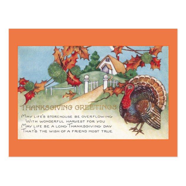 115 Seasonal Thanksgiving Postcards Mimoprints