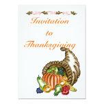 "Thanksgiving #1 Invitation 5"" X 7"" Invitation Card"