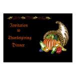 Thanksgiving #1 Invitation Business Card