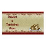 Thanksgiving #2 invitation Business Card