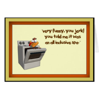 Thanksgiving All Inclusive Card
