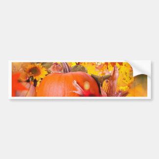 Thanksgiving allegory bumper sticker