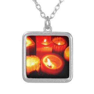 Thanksgiving and Autumn Candle Vignette Pendant